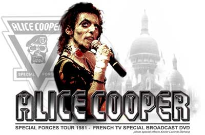 Alice Cooper/Special Forces In Paris DVD - France - French