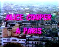 ALICE COOPER FRENCH TV SPECIAL FORCES TOUR 1981