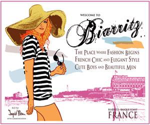 Sac Biarritz Girly Couleur - Biarritz It-Bag Color