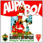 DISQUES CHANSONS RUGBY -BIARRITZ OLYMPIQUE