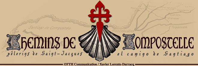 Chemins de compostelle sacs des pelerins de saint - Coquille saint jacques dessin ...