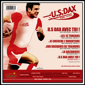 Disque du Club US DAX - Supporter rugby landais