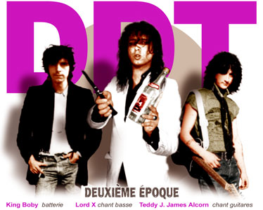 DDT groupe rock-pop-punk de Biarritz - Xavier Lorente-Darracq