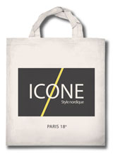 Sac boutique Icone - Paris 18e