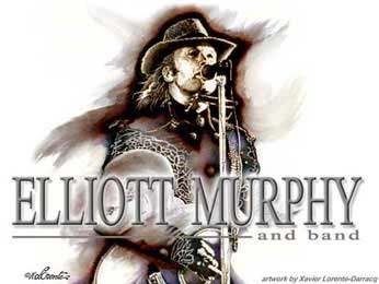 Elliott Murphy Cd Album Live in Concert (Bootleg)