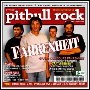 Fahrenheit album CD - groupe de punk-rock de Mont-de-Marsan Landes