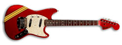 Tommy Lorente - Fender Mustang Competition red
