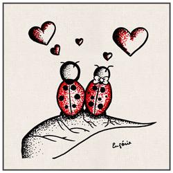 Amour et Coccinelles