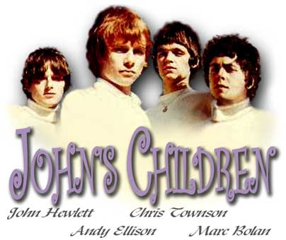 John's Children with Andy Ellison & Chris Townson