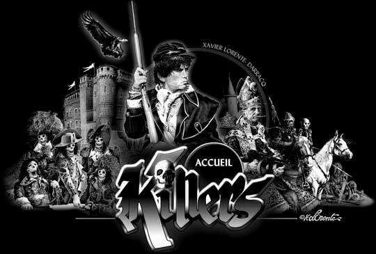 Killers the french heavy metal group from France