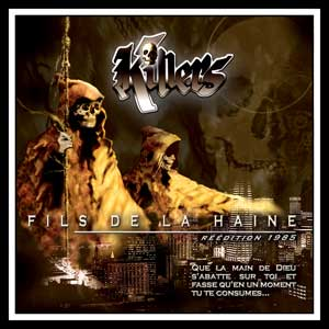 Killers Fils De La Haine CD - Cover Art