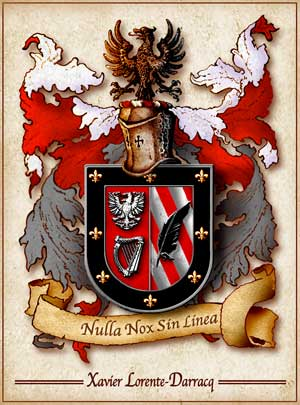 Coat of arms of Lorente - France Spain and Basque Country