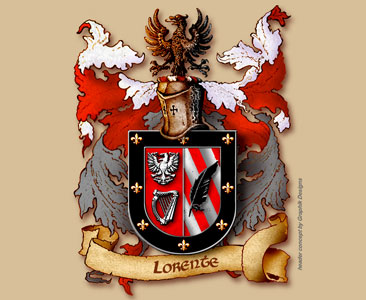 Lorente - Coat Of Arms and Blazon of the family Name