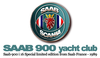 SAAB 900 YACHT-CLUB Limited edition rom Saab France
