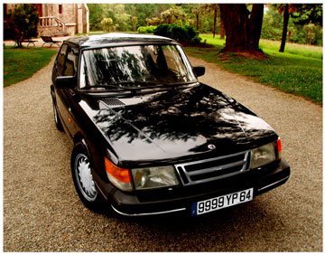 Saab 900s photo en Pays Basque