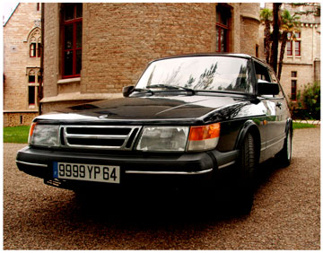 Saab 900 s design - Biarritz Pays basque