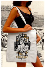 Sac Tote-Bag Biarritz Années Folles
