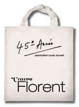 Sac Cours Florent - Paris Ecole Art Dramatique