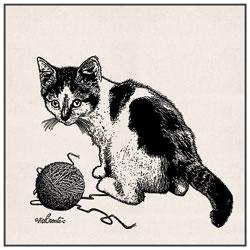 Sac en coton Mignon Petits Chats
