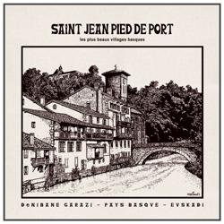 Sac St Jean Pied de Port Garazi Pays Basque