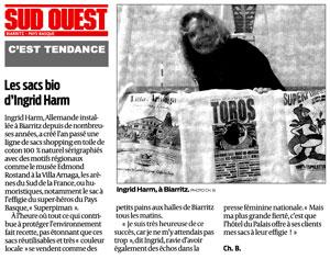 Journal Sud-Ouest Biarritz presse