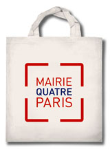 Sac eco-bag Mairie de Paris 4e arrondissement