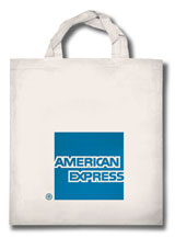 Sac carte American Express - promotion internationale