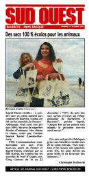 Journal Sud-Ouest SPA Bayonne
