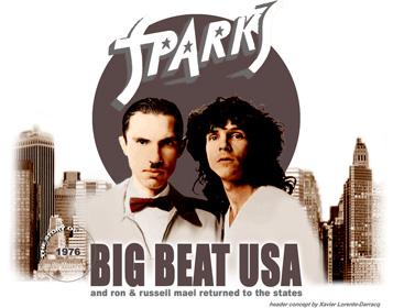 Jeffrey Salen guitarist on Sparks Big Beat album