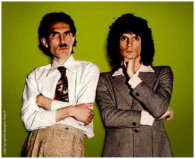 Sparks : Russell Mael & Ron Mael in UK