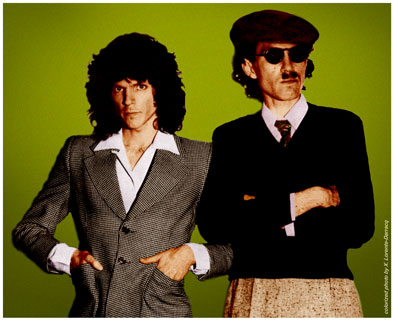 Sparks : Russell Mael & Ron Mael in England