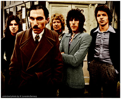 Adrian Fisher, Ron Mael, Dinky Diamond, Russ Mael & Martin Gordon