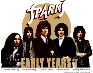 Sparks -  Discography from 1969 up to 1973