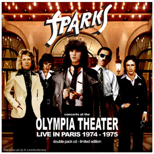 Sparks live at the Olympia Theatre Paris France