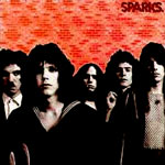 Sparks Bearsville records - Sparks first Lp album
