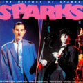 SPARKS - HISTORY OF FRANCE - RARE LP FRONT COVER