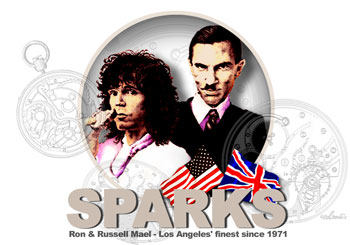 Introducing The Sparks - Ron and Russell Mael CBS Sony