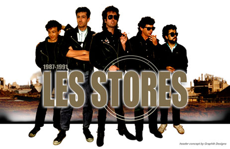 Les Stores - Punk Power Pop de Biarritz, Xavier Lorente-Darracq