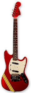 FENDER MUSTANG COMPETITION RED - TOM LORENTE