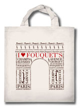Tote Bag Le Fouquet's Paris - Sac Groupe Barrièrel