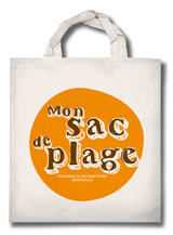 Belfontaine Marseille Redon tote bag plage
